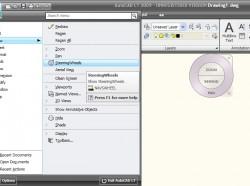 AutoCAD LT 2009: Új navigációs eszköz