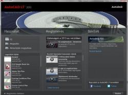 AutoCAD LT 2013: Új üdvözlőképernyő