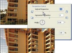 Photoshop Elements 5: Lencsetorzítás kiküszöbölése