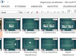 PowerPoint 2013: Elrendezések