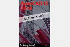 AutoCAD LT 2018 - Blokkok, Xrefek (angol változat)
