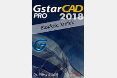 GstarCAD 2018 Pro - Blokkok, Xrefek (angol változat)